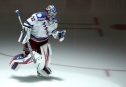 Dec 20, 2016; Pittsburgh, PA, USA; New York Rangers goalie Antti Raanta (32) takes the ice before playing the Pittsburgh Penguins at the PPG PAINTS Arena. Mandatory Credit: Charles LeClaire-USA TODAY Sports